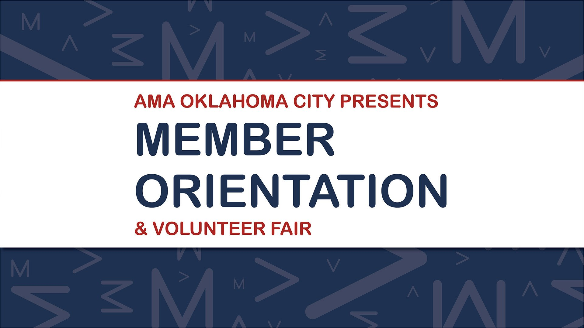 Spring New Member Orientation & Volunteer Fair