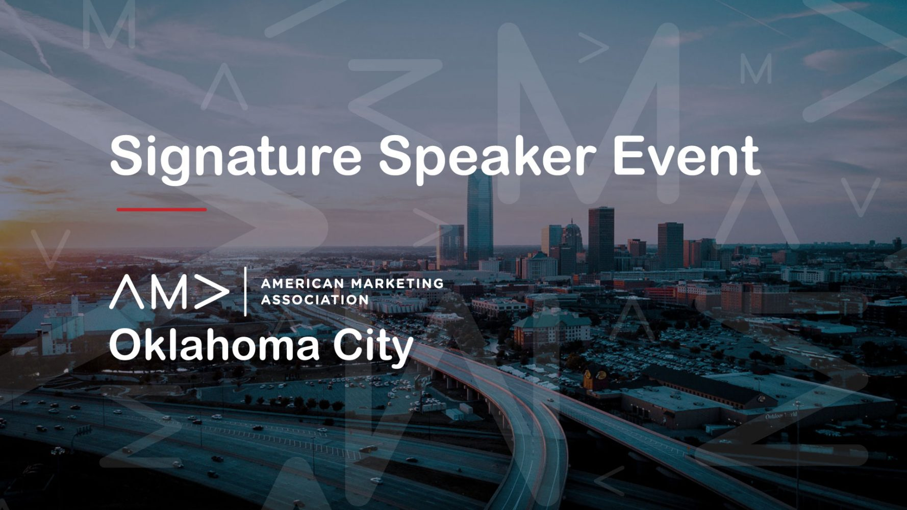 Save the Date - November 8th Signature Speaker Event!